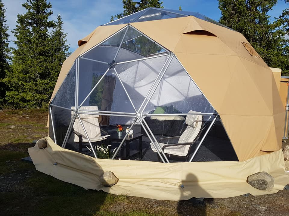 Arctic Dome sommer